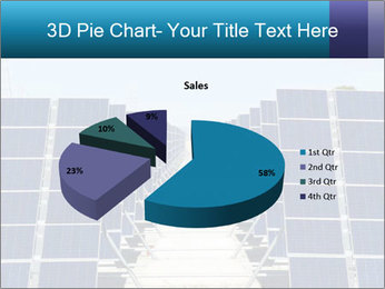 Forefront of solar panels PowerPoint Template - Slide 35