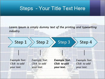 Forefront of solar panels PowerPoint Template - Slide 4