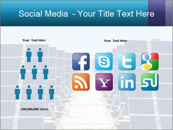 Forefront of solar panels PowerPoint Template - Slide 5