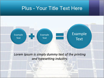 Forefront of solar panels PowerPoint Template - Slide 75