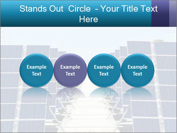 Forefront of solar panels PowerPoint Templates - Slide 76