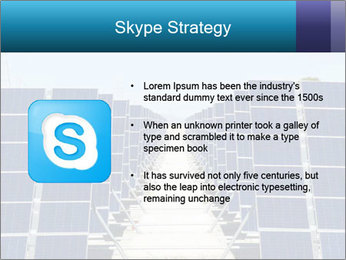 Forefront of solar panels PowerPoint Template - Slide 8