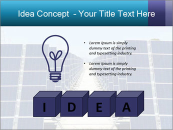 Forefront of solar panels PowerPoint Template - Slide 80