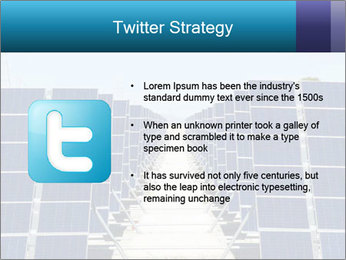 Forefront of solar panels PowerPoint Template - Slide 9