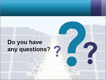 Forefront of solar panels PowerPoint Template - Slide 96