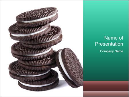 Chocolate cream PowerPoint Template