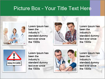 Male doctor PowerPoint Template - Slide 14