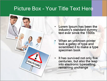 Male doctor PowerPoint Template - Slide 17