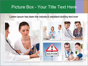 Male doctor PowerPoint Template - Slide 19