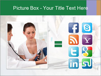 Male doctor PowerPoint Template - Slide 21