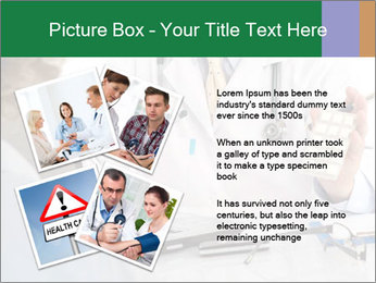 Male doctor PowerPoint Template - Slide 23