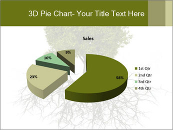 Tree with root PowerPoint Template - Slide 35