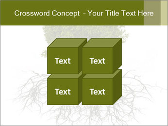 Tree with root PowerPoint Template - Slide 39