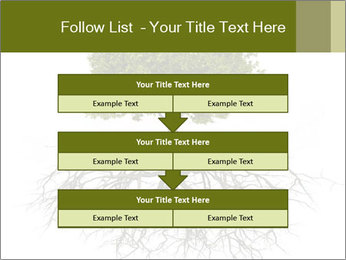 Tree with root PowerPoint Template - Slide 60