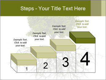 Tree with root PowerPoint Template - Slide 64