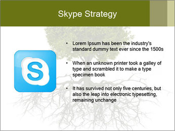 Tree with root PowerPoint Template - Slide 8