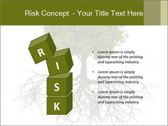 Tree with root PowerPoint Template - Slide 81