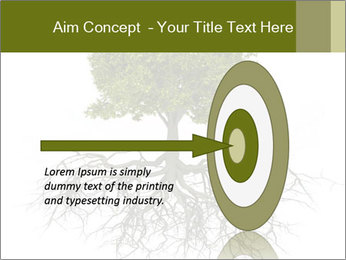 Tree with root PowerPoint Template - Slide 83