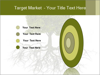 Tree with root PowerPoint Template - Slide 84