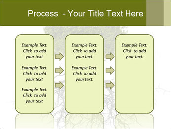 Tree with root PowerPoint Template - Slide 86