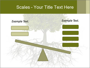 Tree with root PowerPoint Template - Slide 89