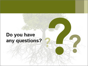 Tree with root PowerPoint Template - Slide 96