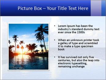 Cloud over the ocean PowerPoint Template - Slide 13
