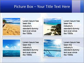 Cloud over the ocean PowerPoint Template - Slide 14