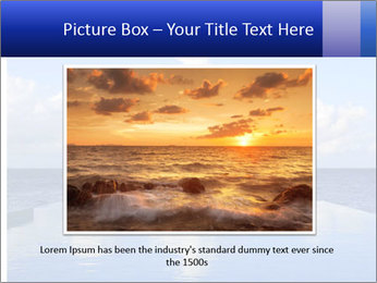 Cloud over the ocean PowerPoint Template - Slide 15