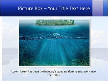 Cloud over the ocean PowerPoint Template - Slide 16