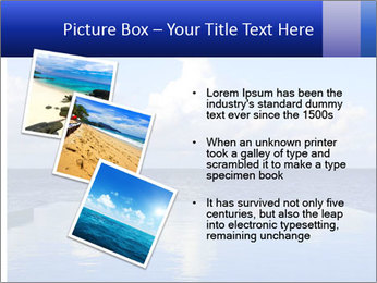 Cloud over the ocean PowerPoint Template - Slide 17
