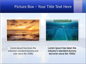 Cloud over the ocean PowerPoint Template - Slide 18