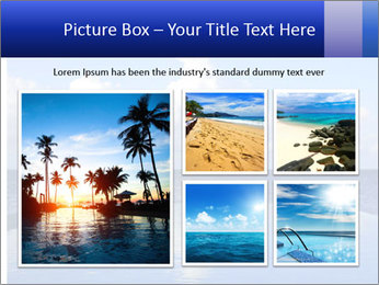 Cloud over the ocean PowerPoint Template - Slide 19