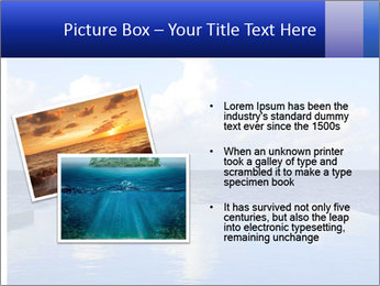Cloud over the ocean PowerPoint Template - Slide 20