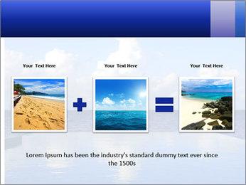 Cloud over the ocean PowerPoint Template - Slide 22