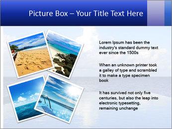 Cloud over the ocean PowerPoint Template - Slide 23