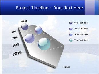 Cloud over the ocean PowerPoint Template - Slide 26