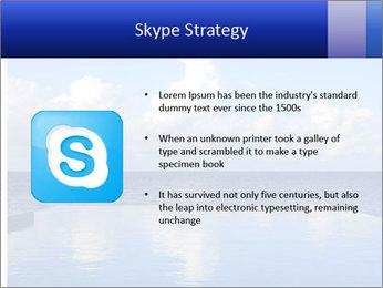 Cloud over the ocean PowerPoint Template - Slide 8