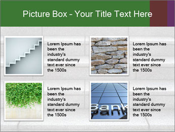 WIde stone stairway PowerPoint Templates - Slide 14