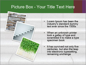 WIde stone stairway PowerPoint Templates - Slide 17