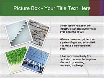 WIde stone stairway PowerPoint Templates - Slide 23