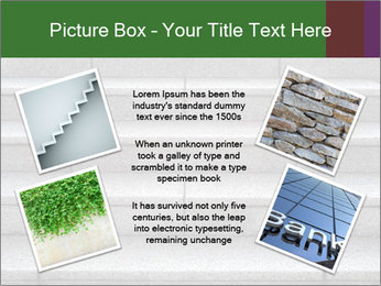 WIde stone stairway PowerPoint Templates - Slide 24