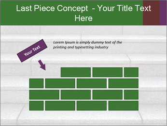 WIde stone stairway PowerPoint Templates - Slide 46