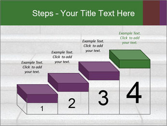 WIde stone stairway PowerPoint Templates - Slide 64