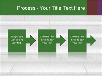 WIde stone stairway PowerPoint Templates - Slide 88