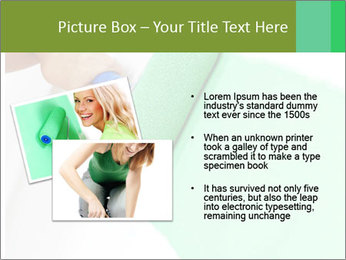 Woman paints PowerPoint Templates - Slide 20