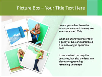 Woman paints PowerPoint Templates - Slide 23