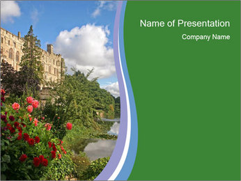 Castle PowerPoint Templates - Slide 1