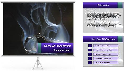 Shotgun PowerPoint Template