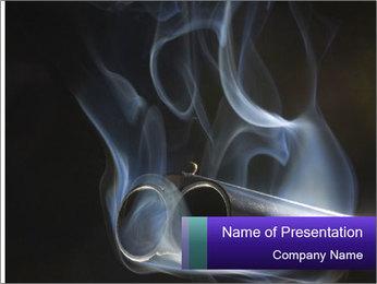 Shotgun PowerPoint Template - Slide 1